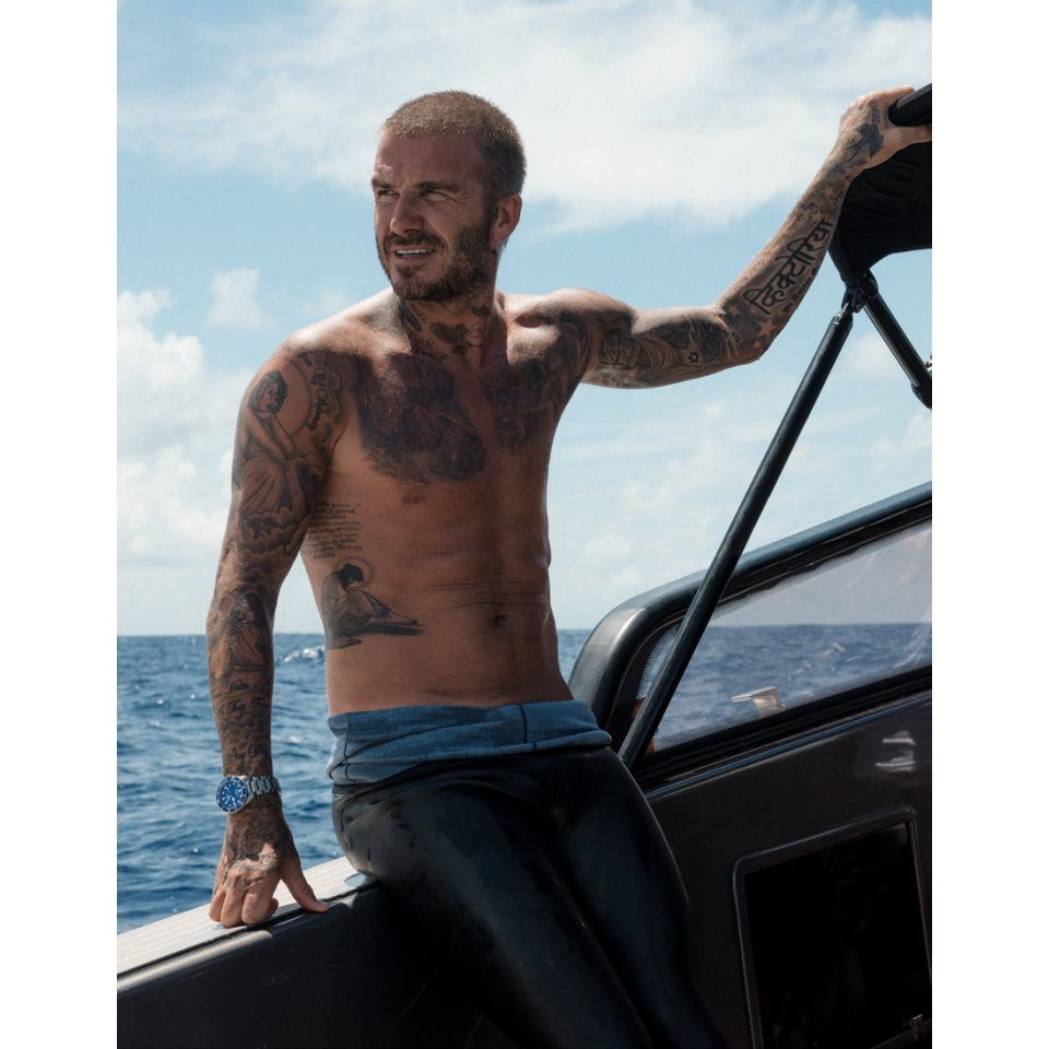 Tudor–David Beckham Dare To Dive