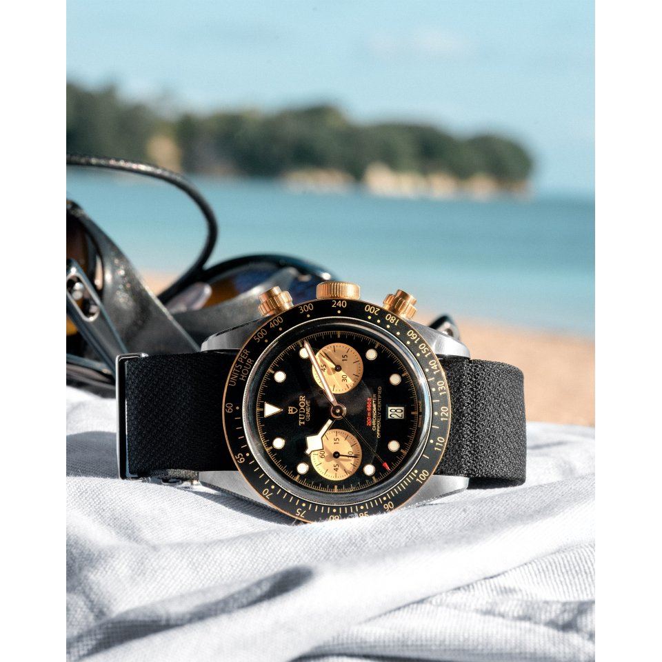 Black Bay Chrono S&G – A Purist's Chronograph in steel and gold